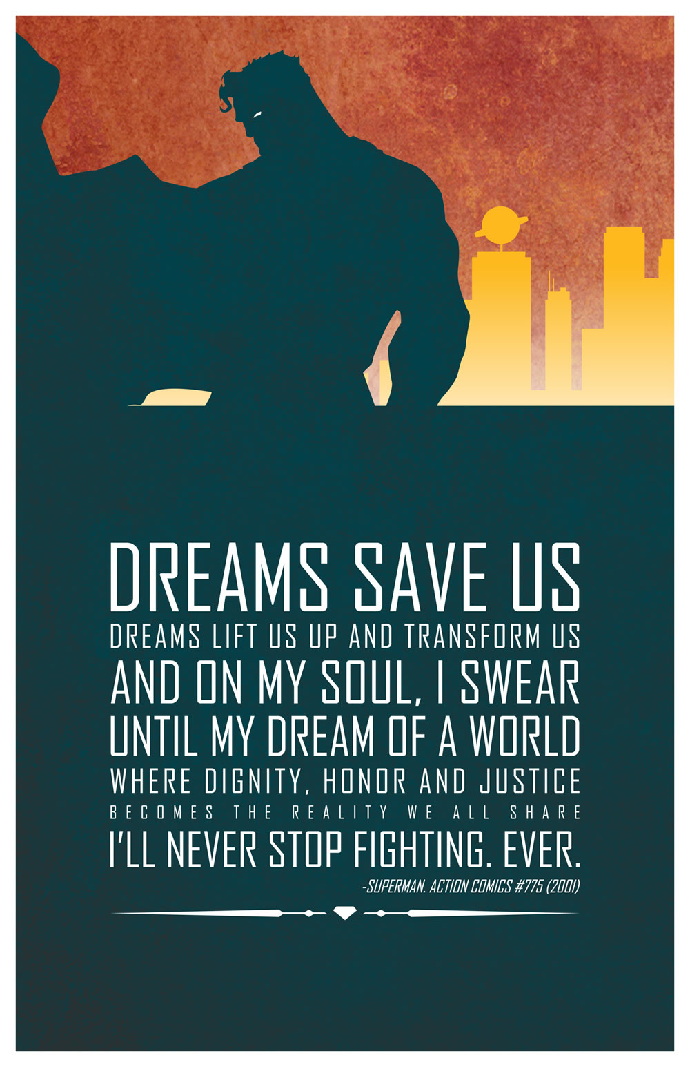 Superman Quotes Inspirational  Heroic Words of Wisdom Inspirational DC Superhero Quotes