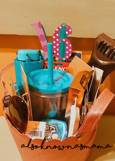 Sweet Sixteen Gift Ideas For Girls  16th Birthday Gift Basket