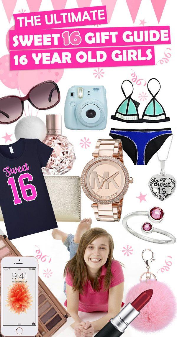 Sweet Sixteen Gift Ideas For Girls  The 25 best Sweet 16 ts ideas on Pinterest