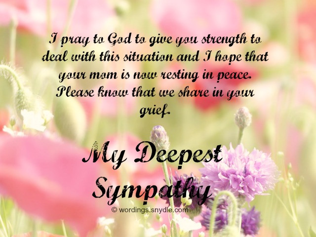 Sympathy Quotes For Loss Of Mother  Sympathy Messages for Loss of Father Wordings and Messages