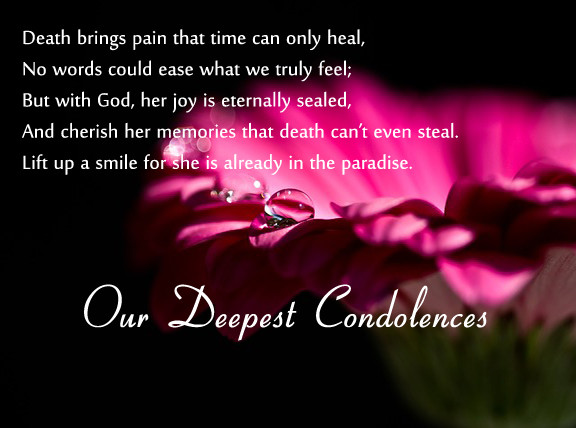 Sympathy Quotes For Loss Of Mother  Condolence Messages 365greetings