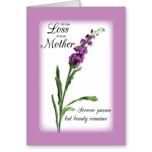 Sympathy Quotes For Loss Of Mother  SYMPATHY QUOTES FOR LOSS OF MOTHER RELIGIOUS image quotes