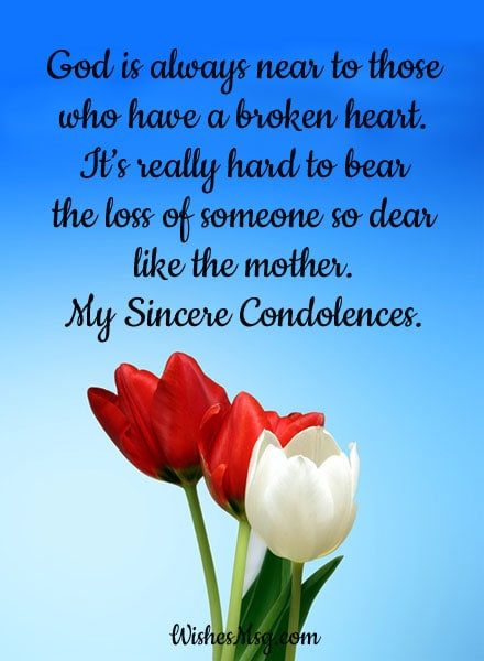 Sympathy Quotes For Loss Of Mother  Condolence Messages on Death of Mother Sympathy Quotes