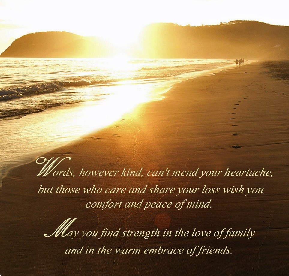 Sympathy Quotes For Loss Of Mother  25 Sympathy Quotes Messages & Condolence