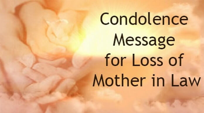 Sympathy Quotes For Loss Of Mother  Mother In Law Death Quotes QuotesGram
