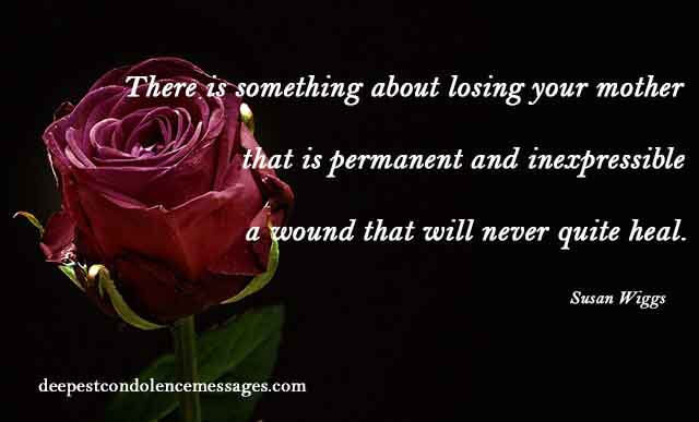 Sympathy Quotes For Loss Of Mother  90 Sympathy Quotes Find the right words in this moment