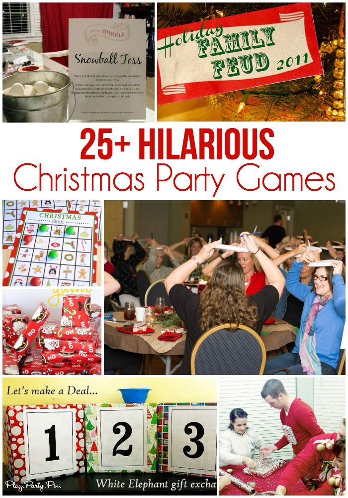 Team Holiday Party Ideas  99 best Events Party & group games activities team