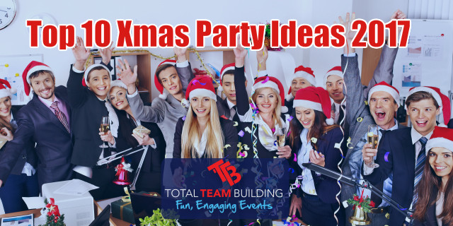 Team Holiday Party Ideas  Top 10 Xmas Party Ideas For 2017 Total Team Building
