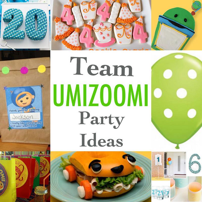 Team Umizoomi Birthday Party Ideas  HOUSE OF PAINT Team Umizoomi Party Ideas