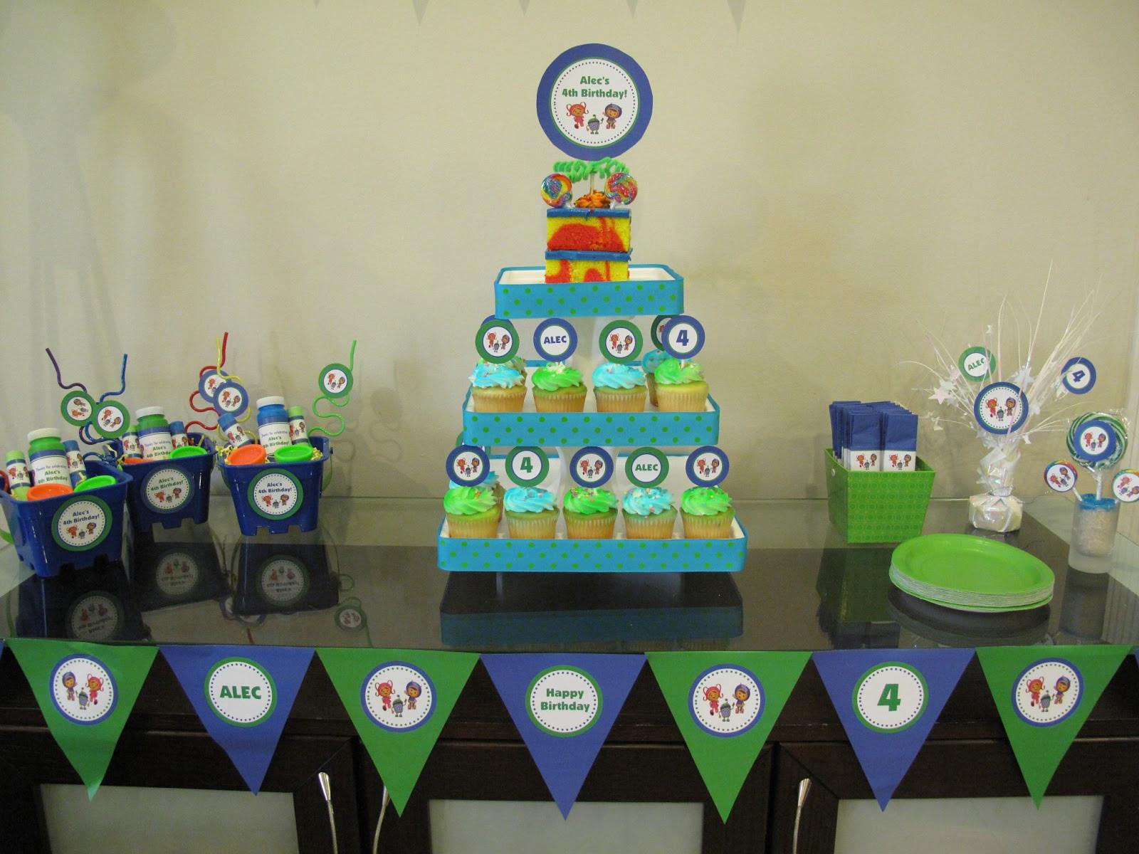 Team Umizoomi Birthday Party Ideas  Personally Yours Parties Team Umizoomi Birthday Party Ideas