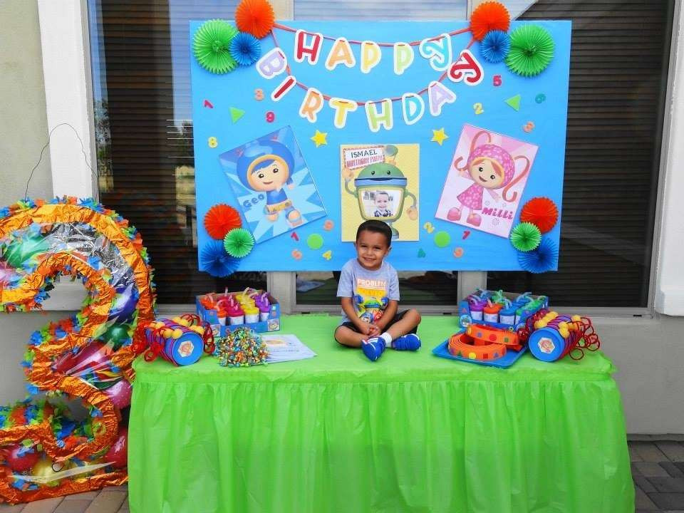 Team Umizoomi Birthday Party Ideas  Team Umizoomi Birthday Party Ideas