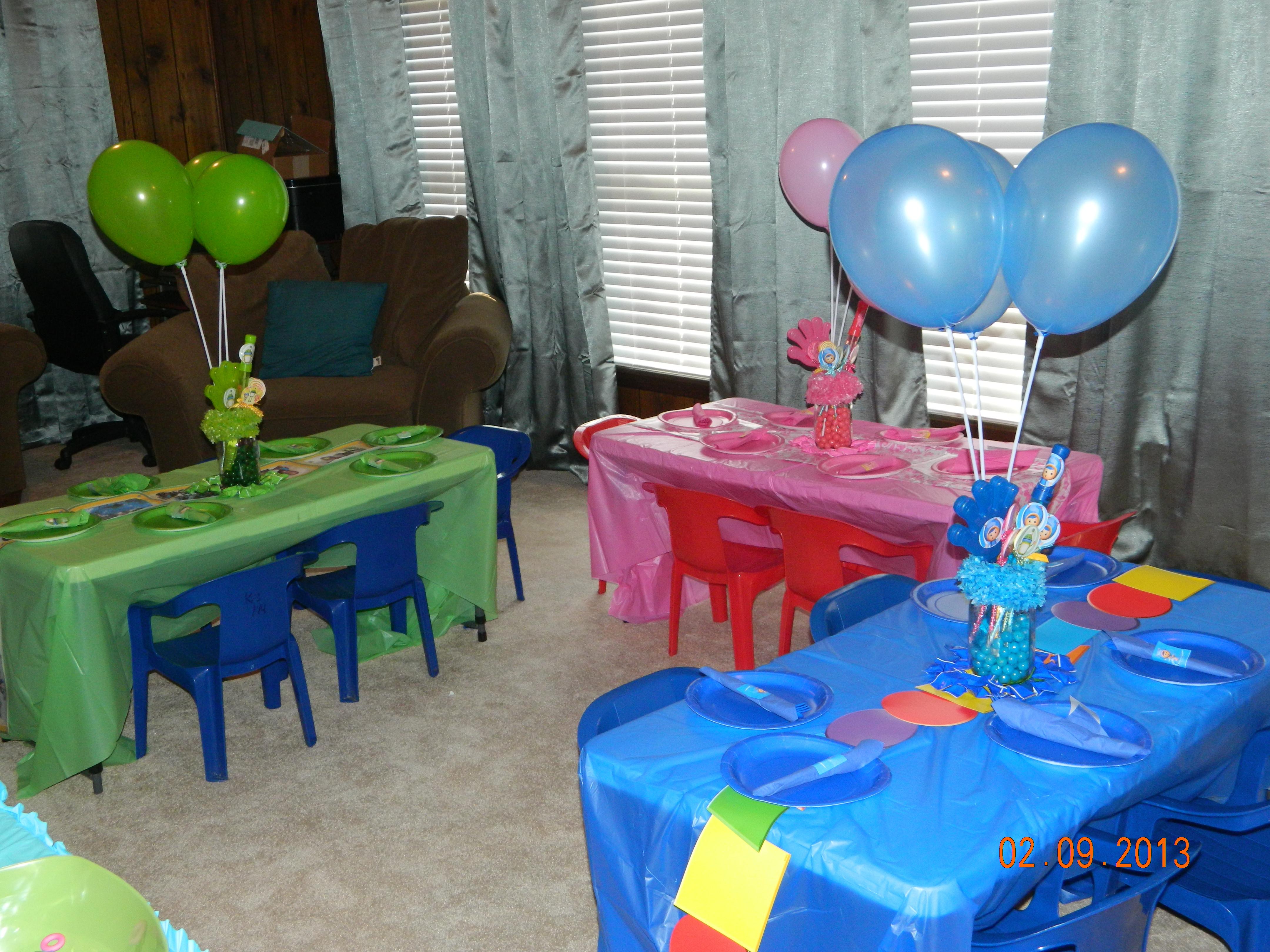 Team Umizoomi Birthday Party Ideas  Team Umizoomi Birthday Party