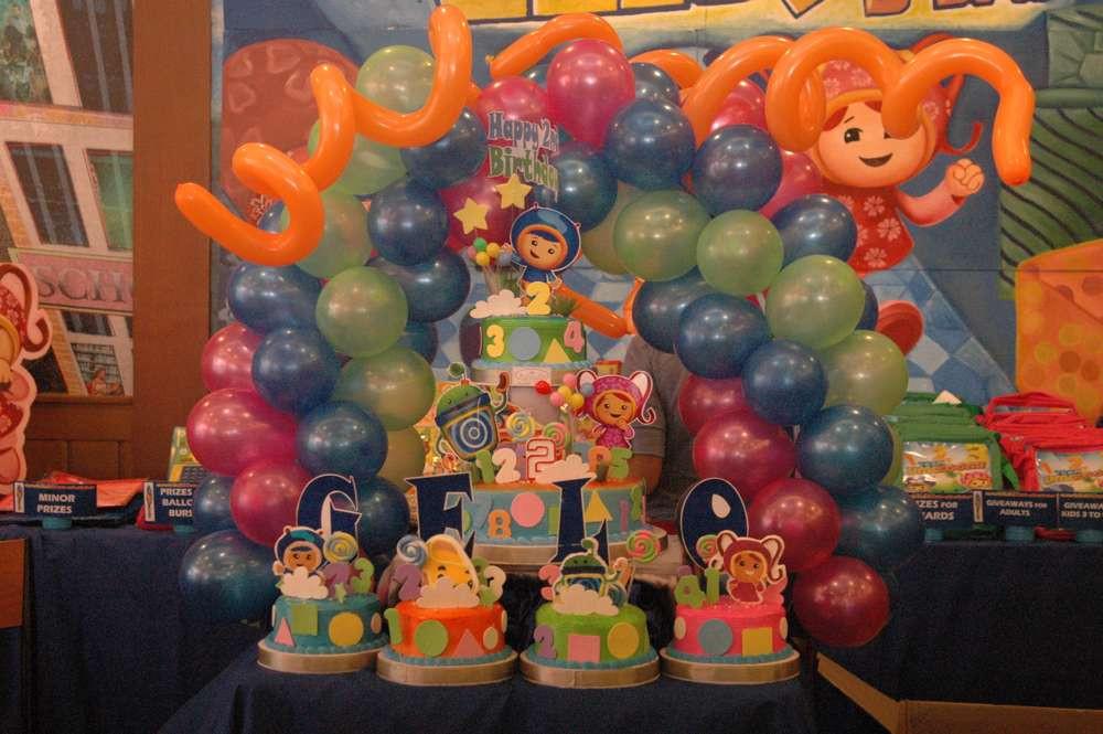 Team Umizoomi Birthday Party Ideas  Team Umizoomi Birthday Party Ideas 8 of 41