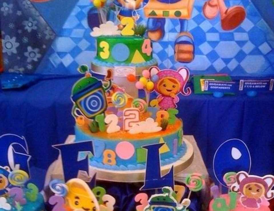 "Team Umizoomi Birthday Party Ideas  Team Umizoomi Birthday ""Gelo s Umizoomi 2nd Birthday"