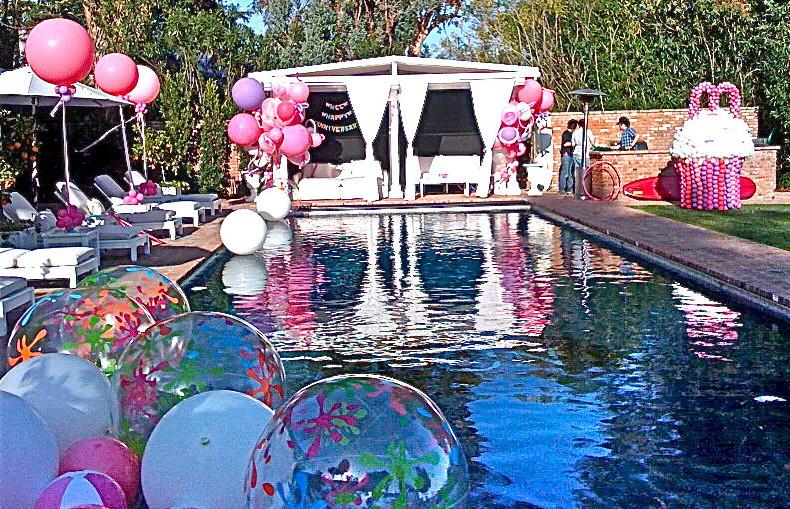 Teen Pool Party Ideas  Sweet Sixteen Pool Party Ideas