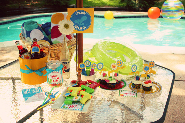 Teen Pool Party Ideas  Beach party ideas at home