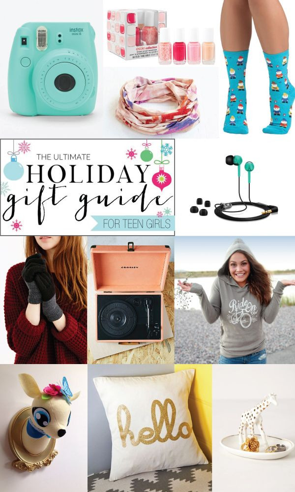 Teenage Girlfriend Gift Ideas  Ultimate Holiday Gift Guide for Teen Girls