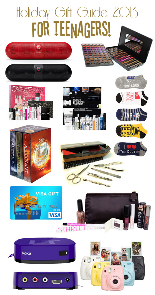 Teenage Girlfriend Gift Ideas  Holiday Gift Guide for Teenagers