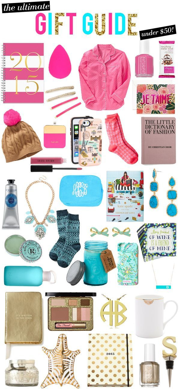 Teenage Girlfriend Gift Ideas  The Ultimate Colorful Christmas Gift Guide