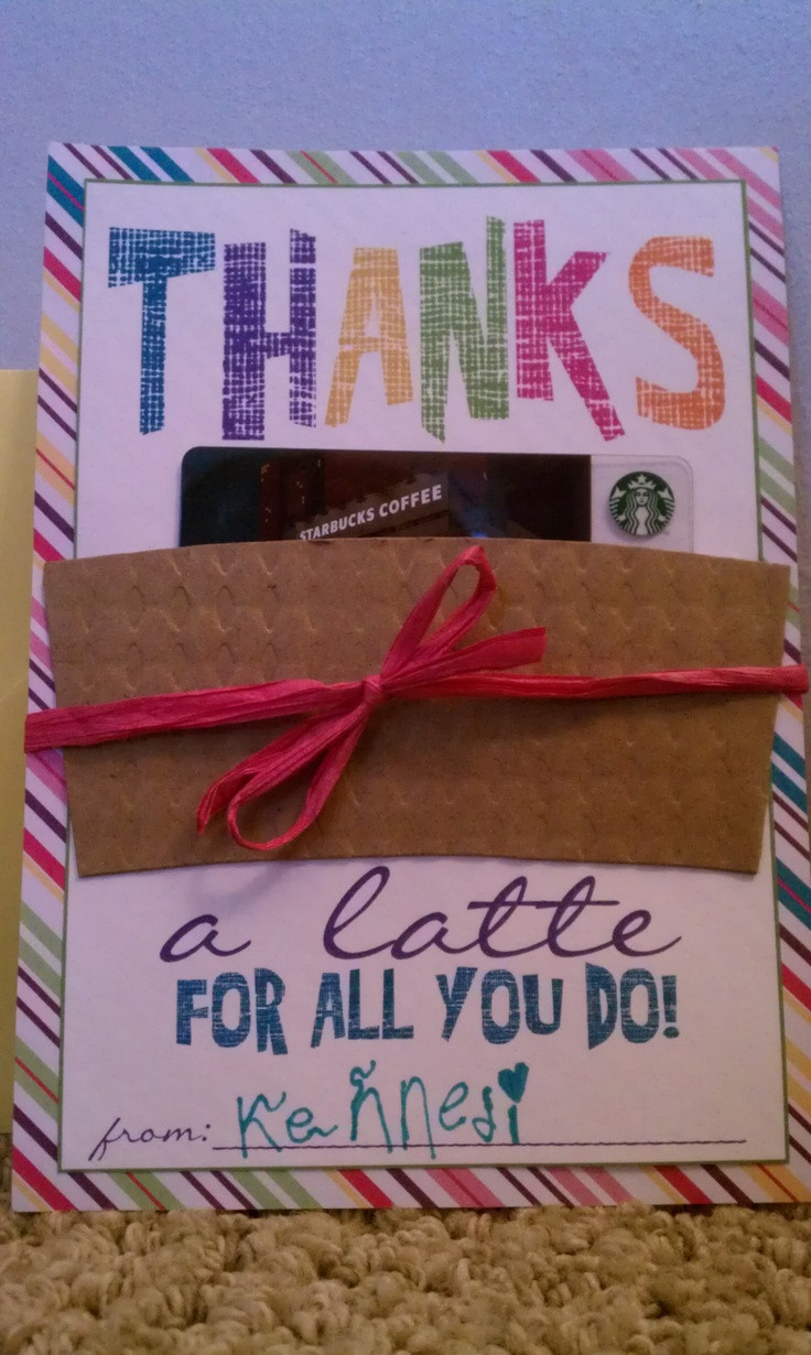 Thank You Gift Card Ideas  1000 images about Thank You Gift Ideas on Pinterest