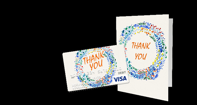 Thank You Gift Card Ideas  Thank You Gift Cards