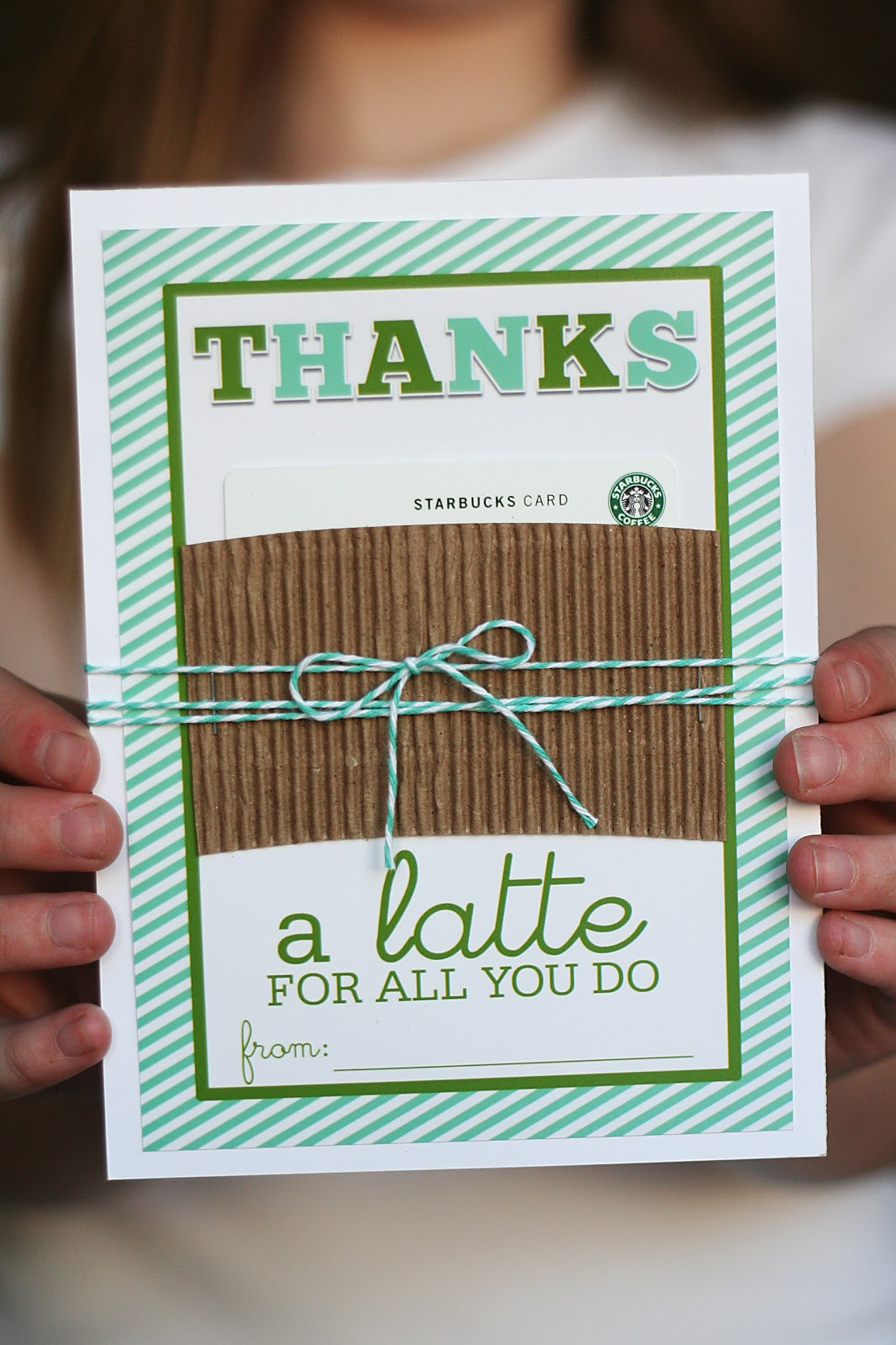 Thank You Gift Card Ideas  Toe tally Awesome Teacher Gift Eighteen25