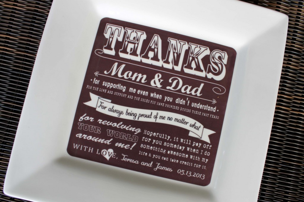 Thank You Gift Ideas For Parents  Wedding Thank You Gift Ideas For Parents