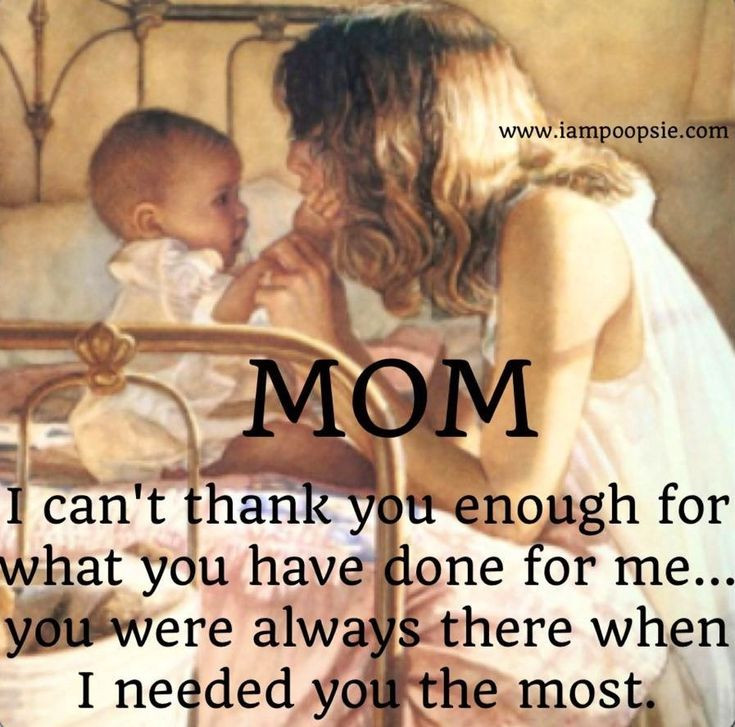 Thank You Mother Quotes  Thanks mom quote via love