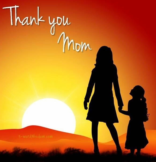Thank You Mother Quotes  25 best Thank you mom quotes on Pinterest