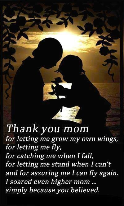 Thank You Mother Quotes  Thank you Mom Sayings