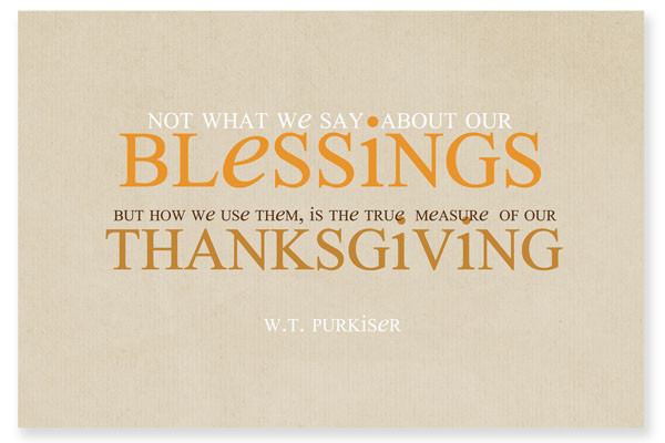 Thanksgiving Blessing Quotes  30 Thanksgiving Printables