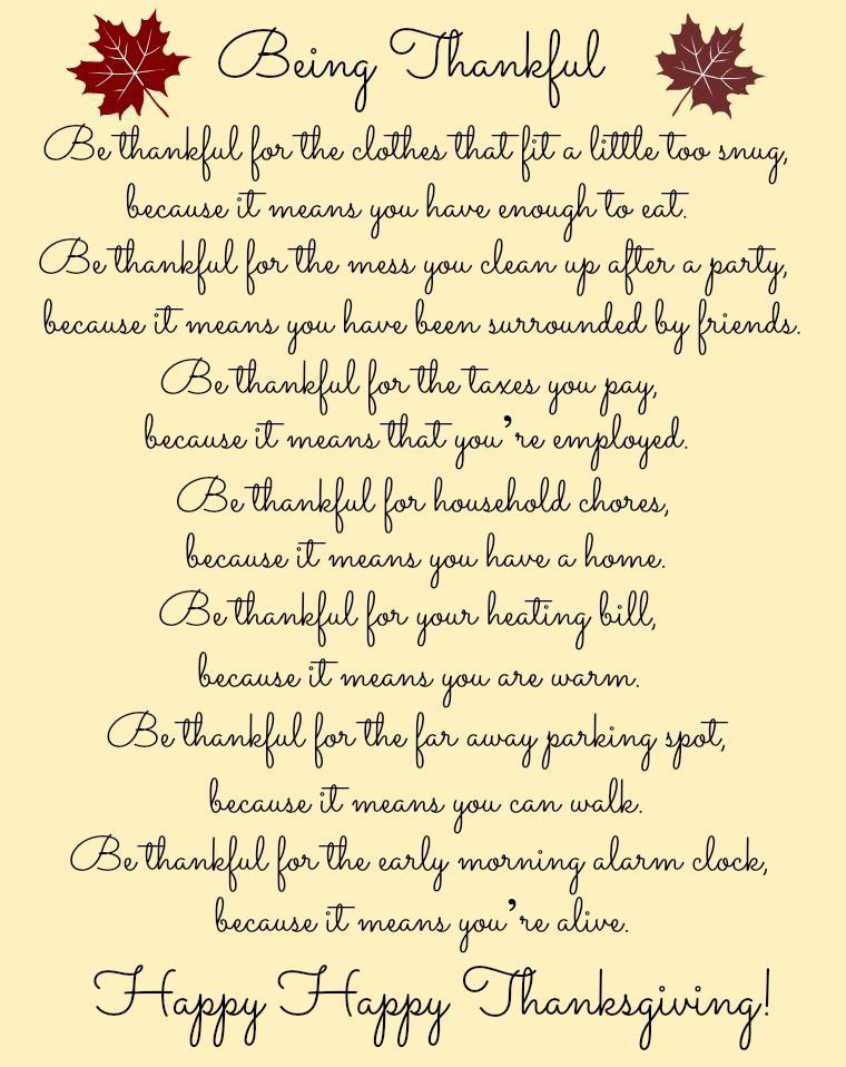 Thanksgiving Blessing Quotes  Being Thankful prayer thankful thanksgiving blessings