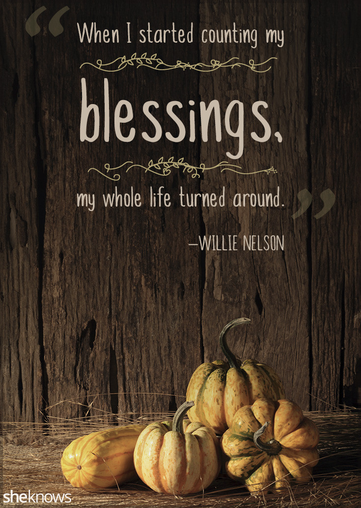 Thanksgiving Blessing Quotes  Thanksgiving Quotes Perfect to Read Around the Dinner