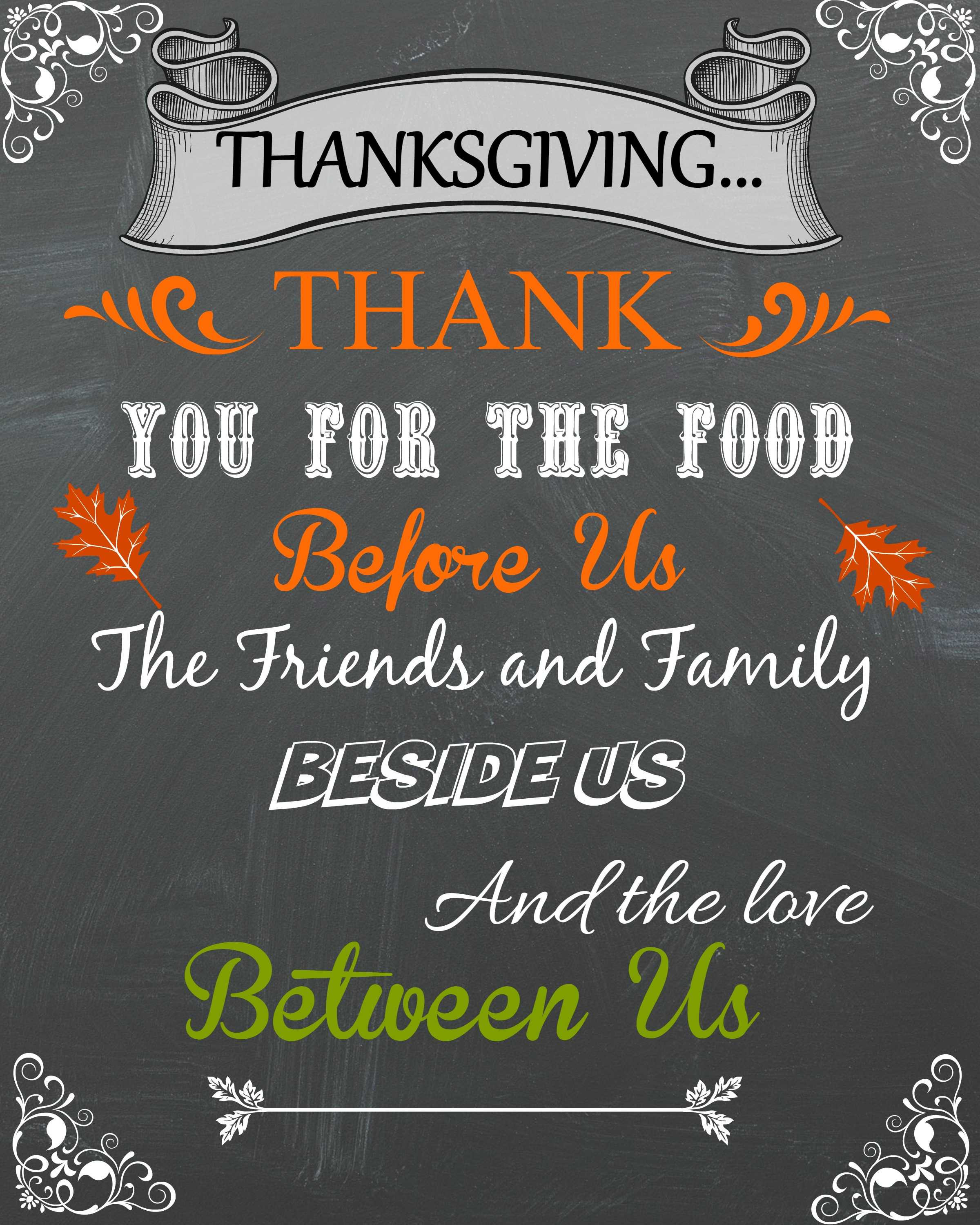 Thanksgiving Blessing Quotes  Blessings Debbiedoos