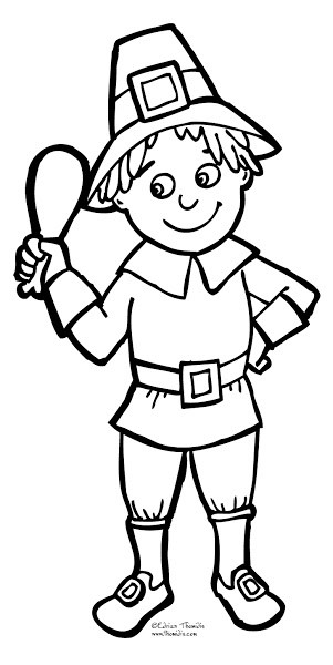Thanksgiving Pilgrim Girl Coloring Pages  Thanksgiving Pilgrim Girl Coloring Pages – Colorings