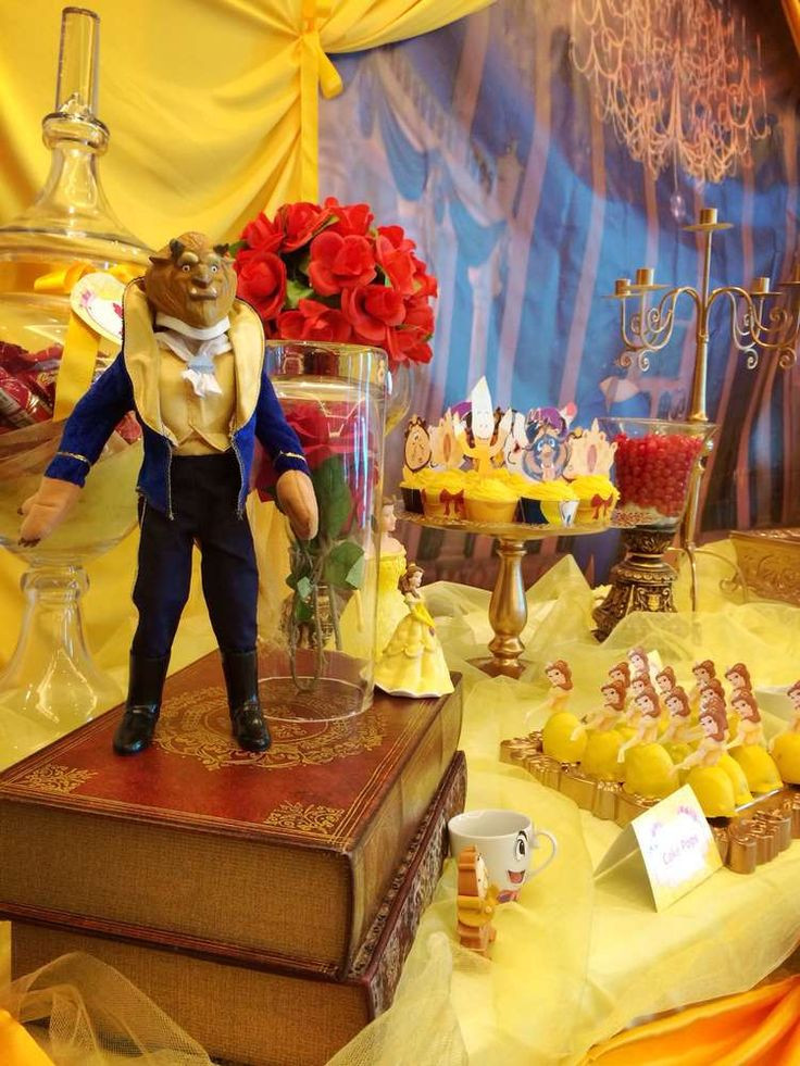 The Birthday Party  Beauty and the Beast Birthday Party Ideas