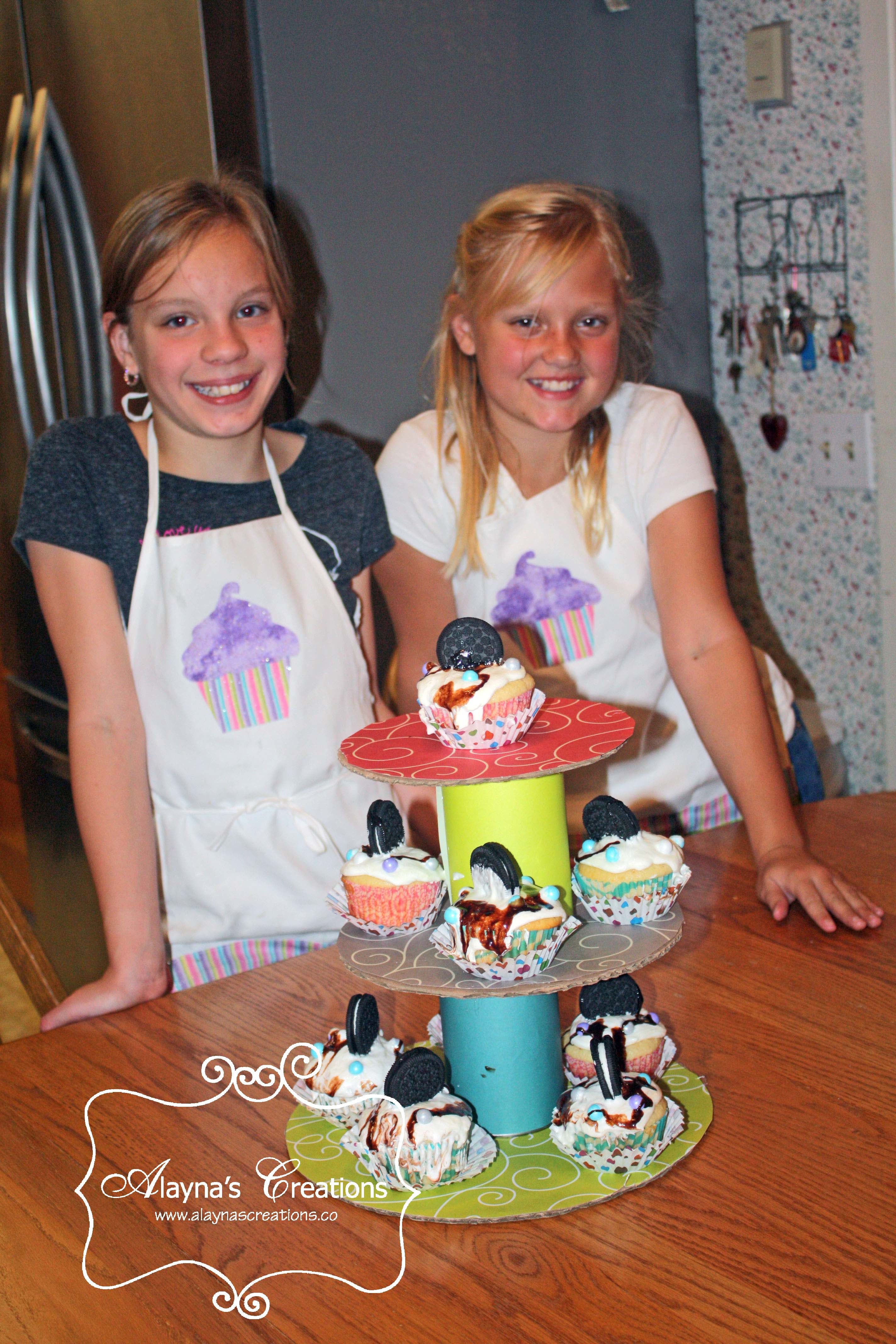 The Birthday Party  Cupcake Wars Birthday Party DIY home decor and crafts