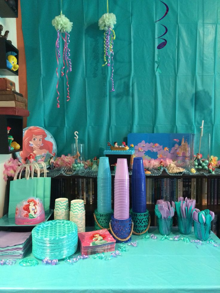 The Birthday Party  Disney s The Little Mermaid Girl s Birthday Party