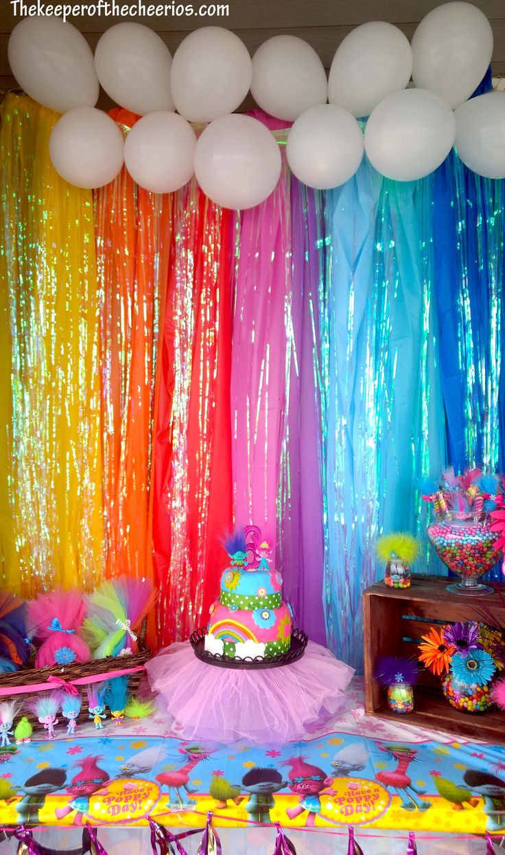 The Birthday Party  Trolls Birthday Party Parties