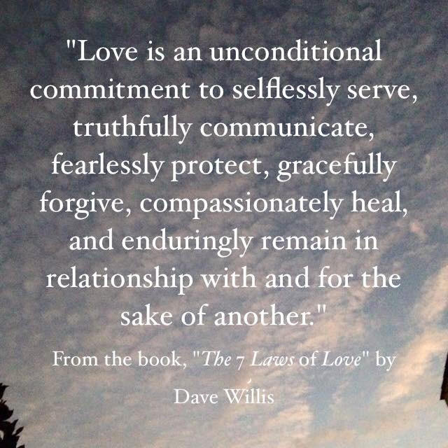 The Meaning Of Marriage Quotes  The Seven Laws of Love Quotes from the book