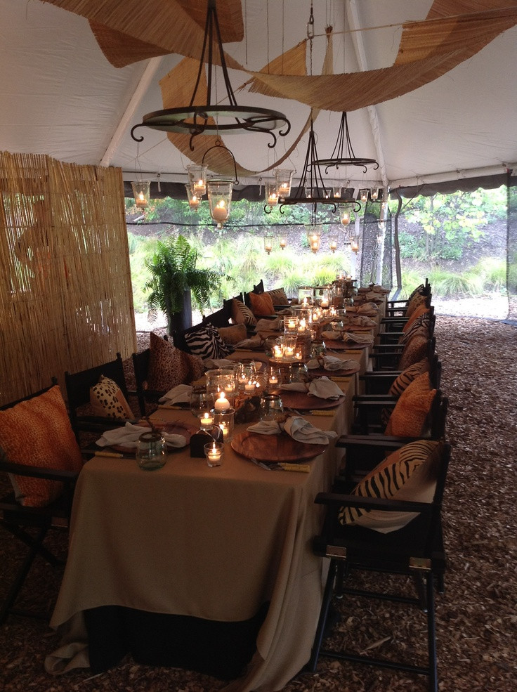 Themed Dinner Party Ideas For Adults  1259 best images about Adult Safari Zoo or Rainforest