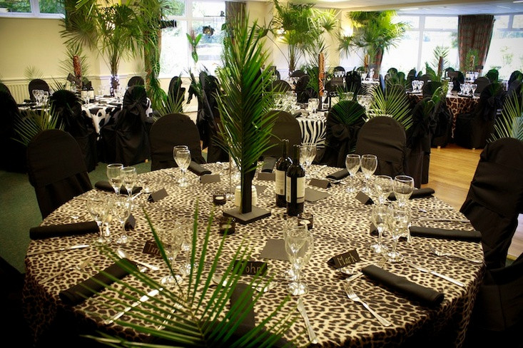 Themed Dinner Party Ideas For Adults  Jungle themed dinner party all this needs are some
