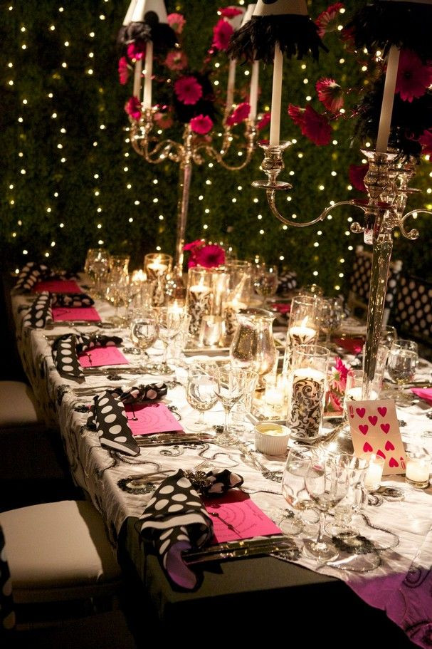 Themed Dinner Party Ideas For Adults  25 best ideas about Adult party centerpieces on Pinterest