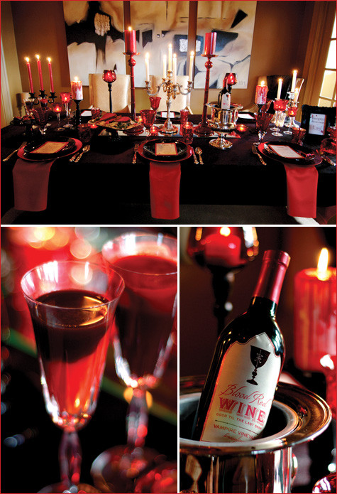 Themed Dinner Party Ideas For Adults  the queen of halloween July 2012