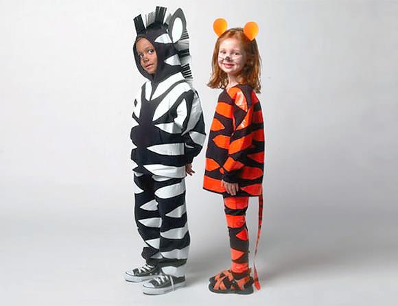 Tiger Costume DIY  6 Easy DIY Halloween Costumes for Kids