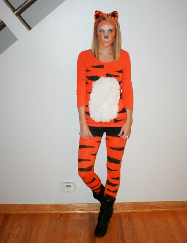 Tiger Costume DIY  Sisters Marie Happy Halloween DIY Costume Style