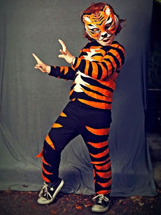 Tiger Costume DIY  Best 25 Kids tiger costume ideas on Pinterest