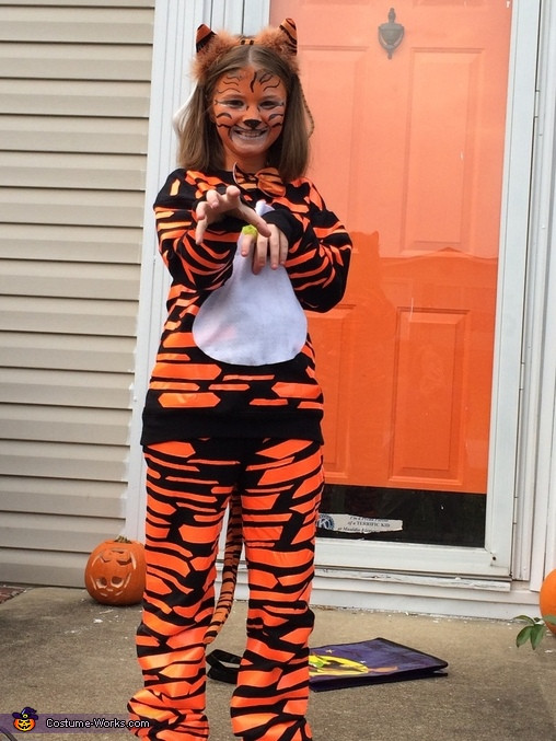 Tiger Costume DIY  Clemson Tiger Costume Diy Tiger Costume Samorzady