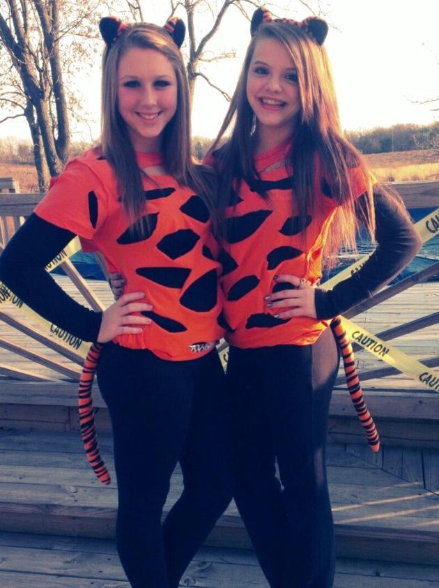 Tiger Costume DIY  Sequoit Media DIY Halloween Costumes