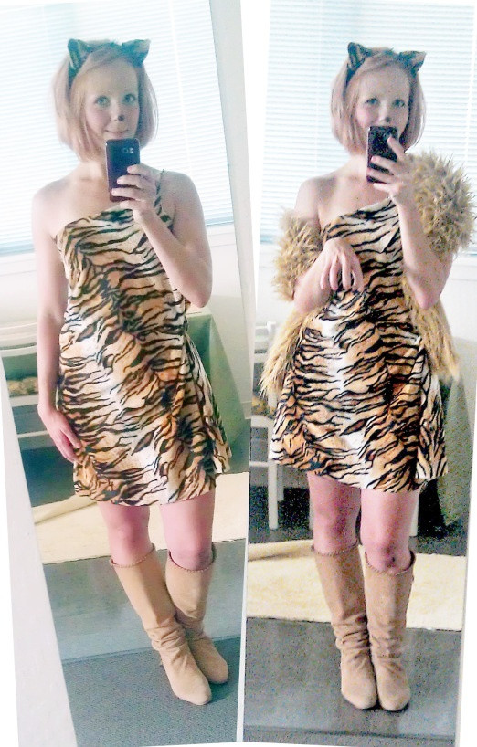 Tiger Costume DIY  DIY Tiger Costume Do it yourself Pinterest